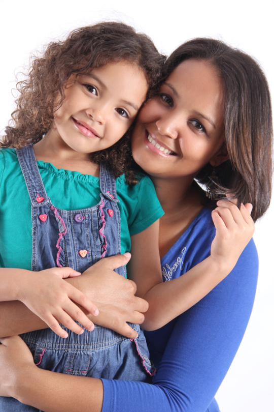 Mother and daughter shoot